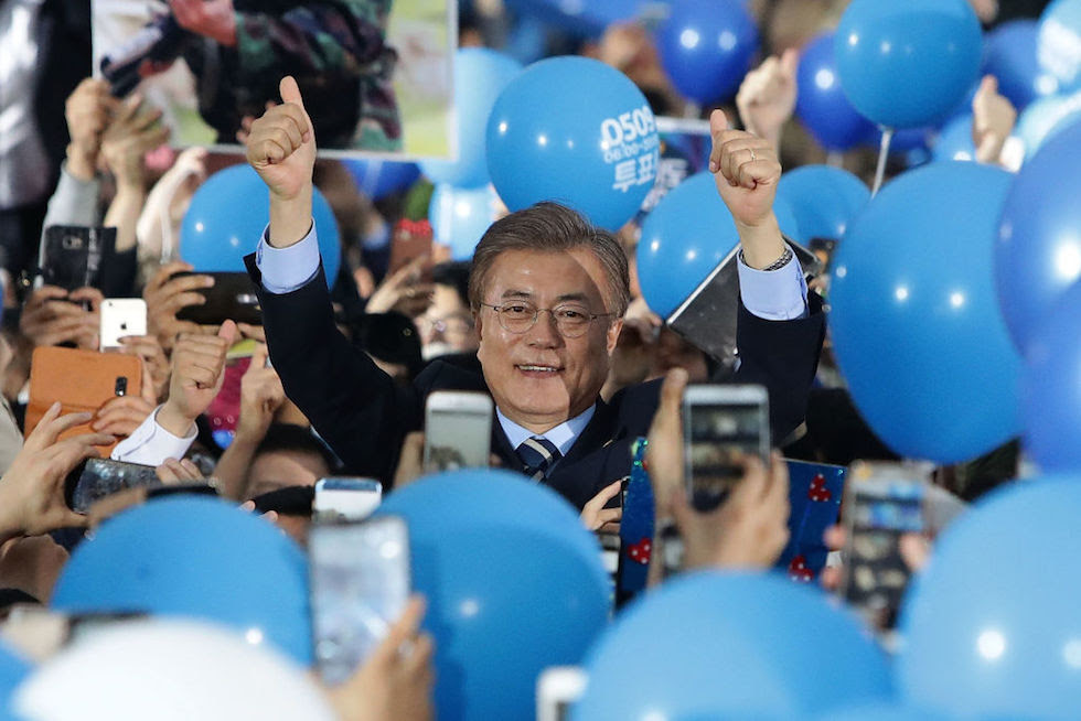 Presidential Candidates Campaign In South Korea