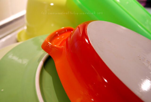 Colours in the kitchen