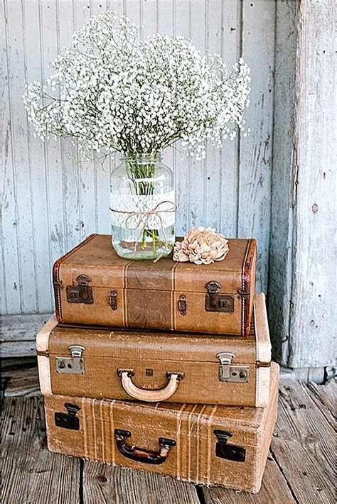 Shabby & Chic Vintage Wedding Decor Ideas   Wedding