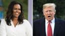 Trump Disses Michelle Obama's Memoir Comments, Says He'll Never Forgive Barack