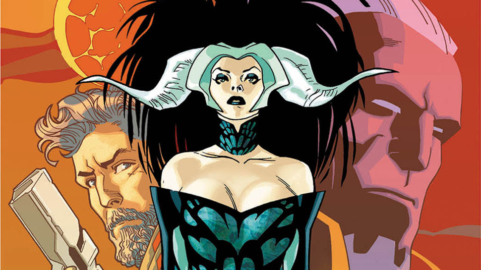Mark Millar and Stuart Immonen's EMPRESS # 1 Preview Brings Sci-fi to Prehistoric Earth