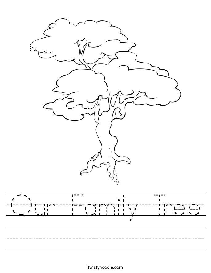 our family tree 2_worksheet