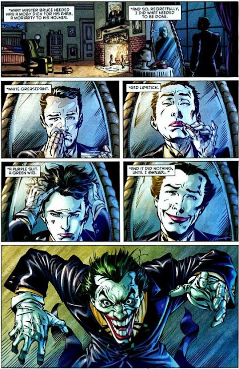 Comic Where Alfred Is The Joker