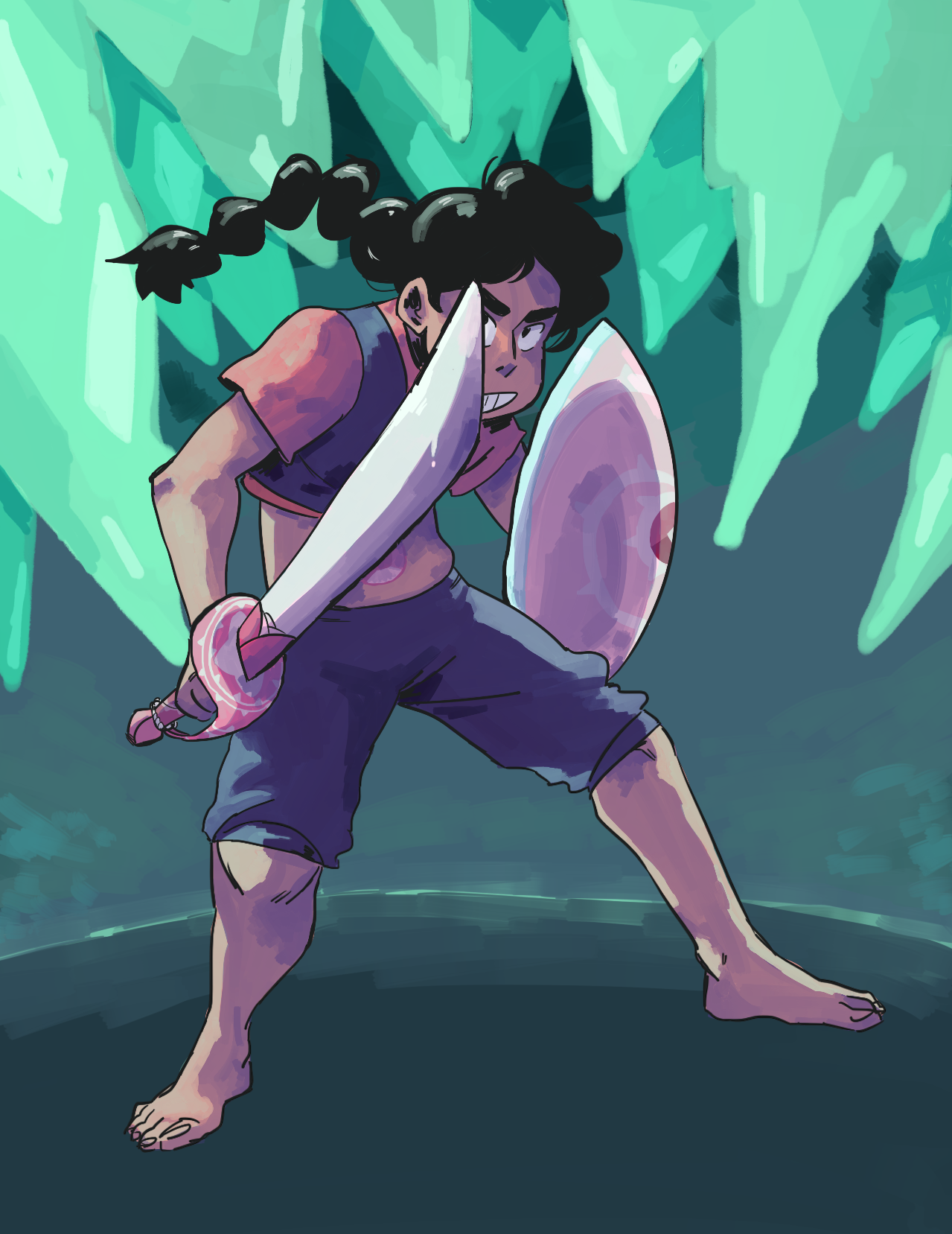 been wanting to draw stevonnie for a while