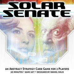 Solar Senate: Abstract Strategy Card Game for 2 Players