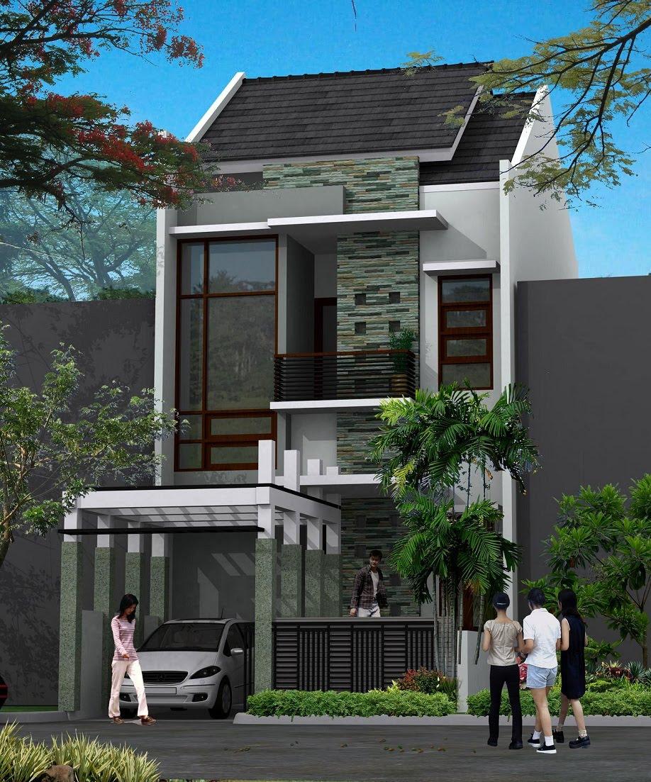 Gambar Rumah Minimalis 2 Lantai Type 21 Desain Rumah Minimalis