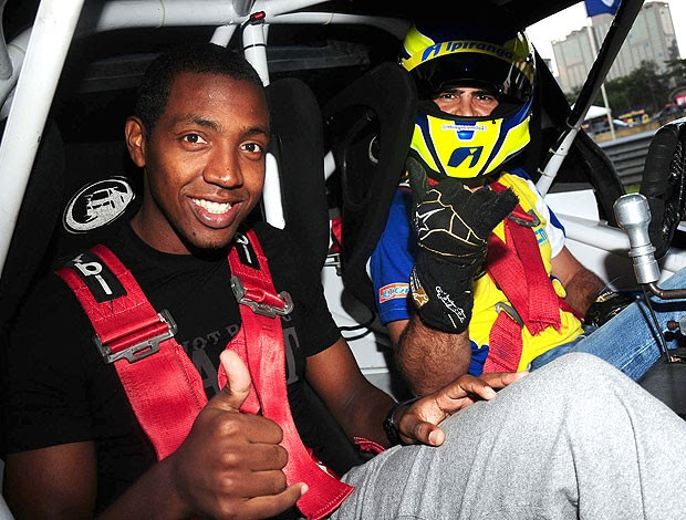 Thiago Camilo e Renato Abreu na Stock Car (Foto: Duda Bairros / Stock Car)