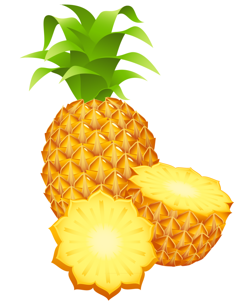 pineapple png images free pictures download 836x1024