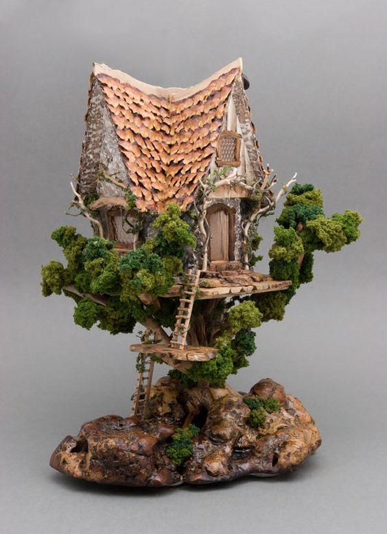 miniature tree houses 6