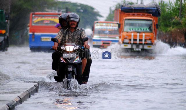 Banjir Rob Sapa Utara Jakarta