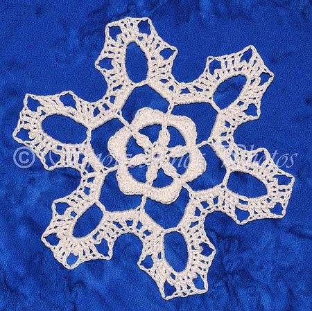Island in the Sky Snowflake