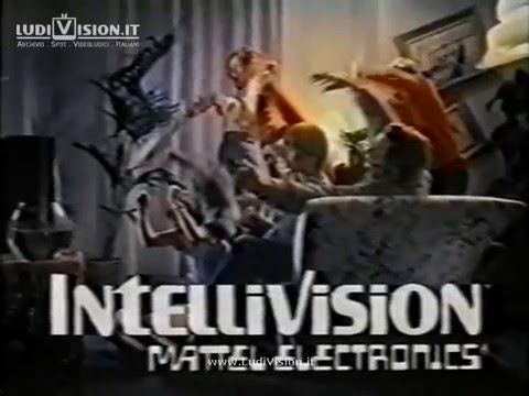 Mattel Intellivision - BurgerTime - Spot 2 (1983)