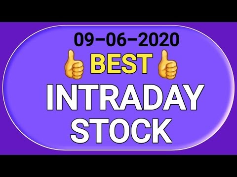 Best intraday stock 09 June 2020 | tomorrow trading stock| stock to trad...