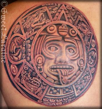 Aztec tattoo flash art and sheets from Superior Tattoo. Tattoo Bible.