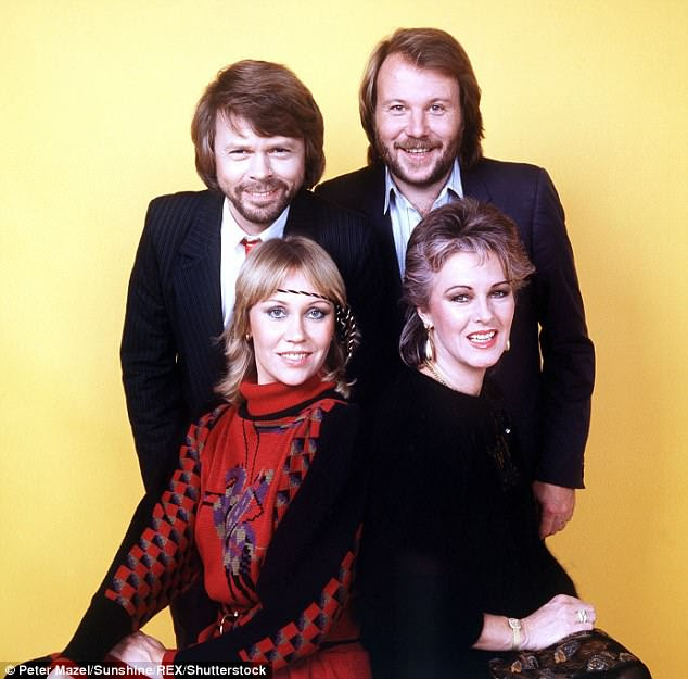 Dashed hopes: Despite ABBA's new music announcement causing excitement across the globe, it has been confirmed the Swedish supergroup will never perform live together again