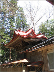 039 shrine roof structure