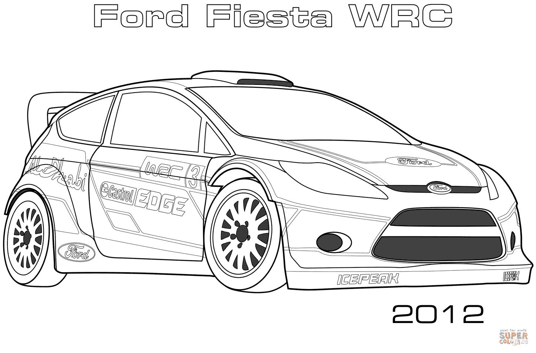 the 2012 Ford Fiesta WRC