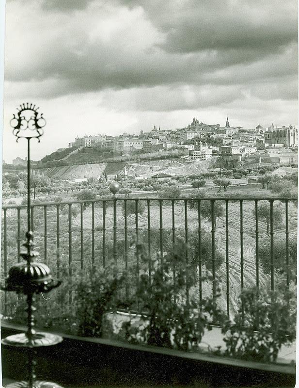 Cigarral del Ángel Custodio a mediados del siglo XX