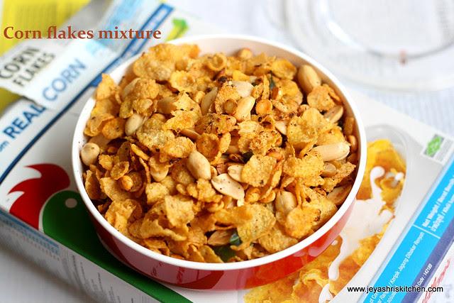 cornflakes-mixture
