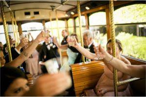 Atmosphere Productions - wedding transportation - ROCKSTAR LIMO - Trolley-Toast-LaBrisa-Photography.jpg