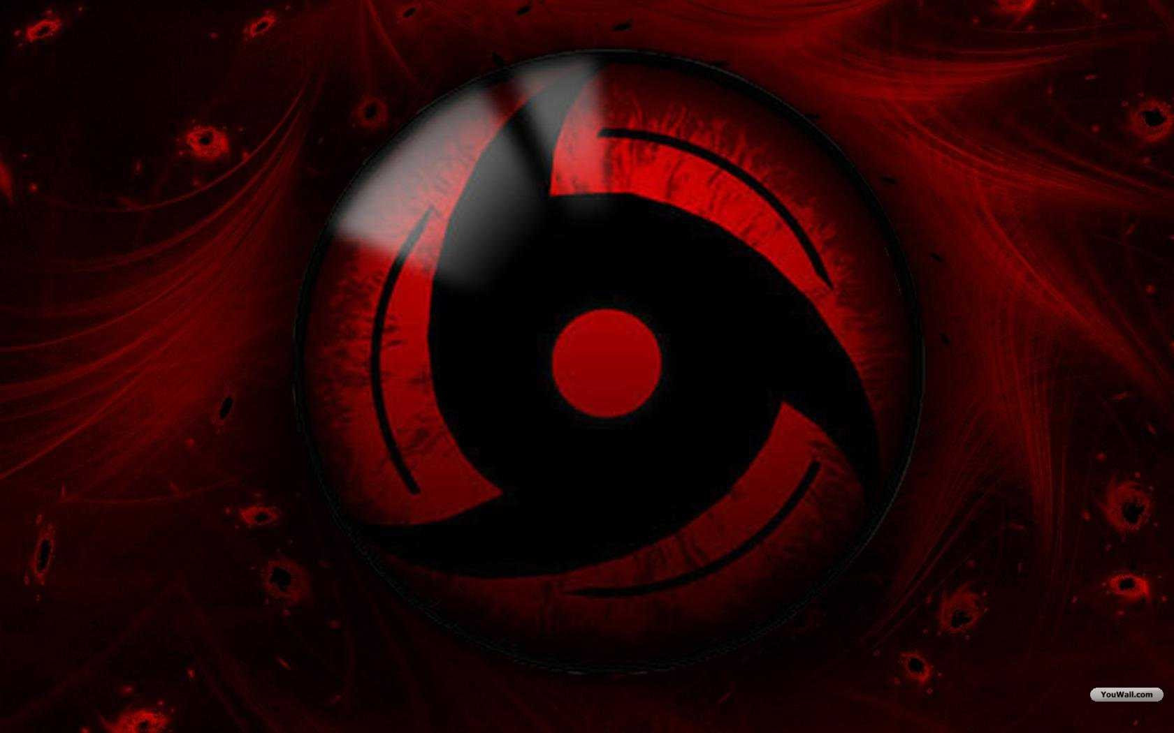 Black Red Naruto Sharingan 1680x1050 Wallpaper Anime Naruto Hd