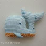 Come fare pupazzo balena Tutorial e Cartamodello