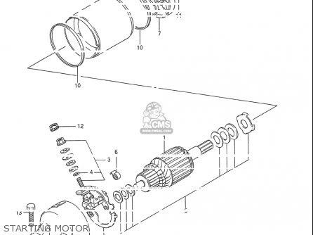 Suzuki Gsx600 F Katana 1988-1996 (usa) parts list ...