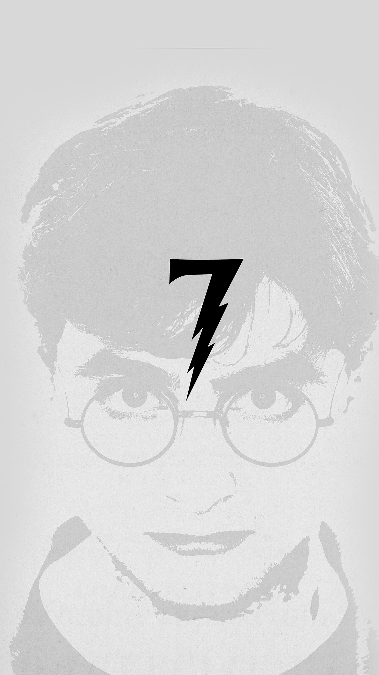 Iphone6papers Ao65 Harry Potter Art Minimal Film Gray