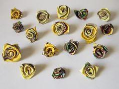 Reduce-Craft-Recycle-Repeat: Paper Craft - Tea Box Roses