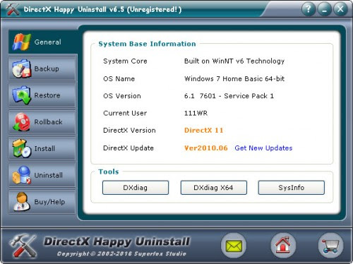 DirectX Happy Uninstall 6.5 Crack, Serial Key Full Version Free Download
