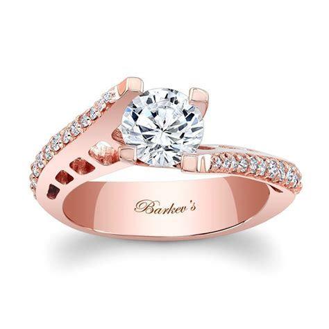 Barkev's Rose Gold Engagement Ring 7927LP   Barkev's