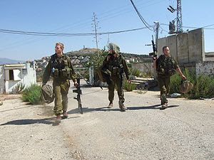 Israeli soldiers coming back from the Lebanon war.