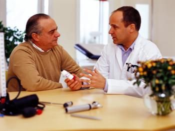 Conversation between doctor and patient/consumer.