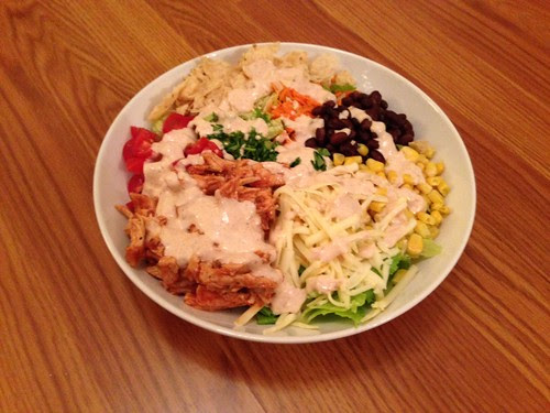 stonefire grill bbq chopped salad