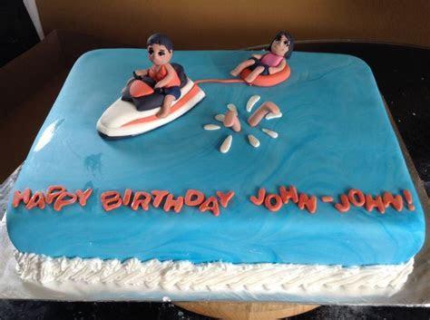 Jet ski cake   Cakes!   Pinterest   Jets, Jet ski and Cakes