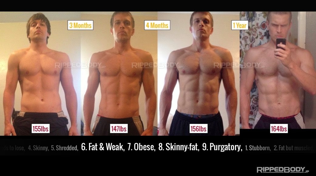 body fat percentage in average man