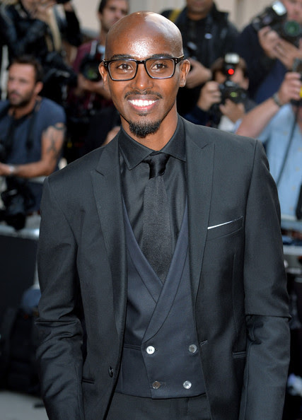 Mo Farah attends the GQ Men of the Year awards at The Royal Opera House on September 2, 2014 in London, England.