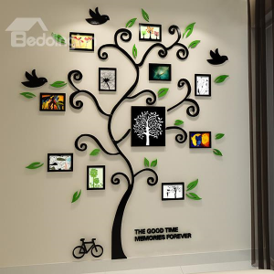 Fantastic Family Tree 3d Sticker Wall Photo Frame By World E Buy