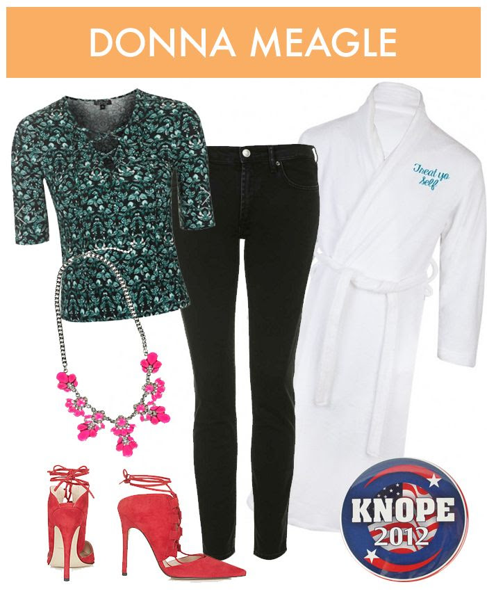 Donna Meagle Halloween Costume - Parks and Recreation