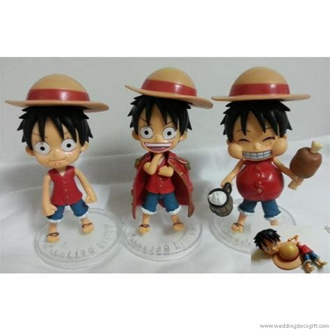 Anime One Piece Figurine / Anime One Piece Cake Topper