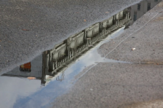reflection, broadway