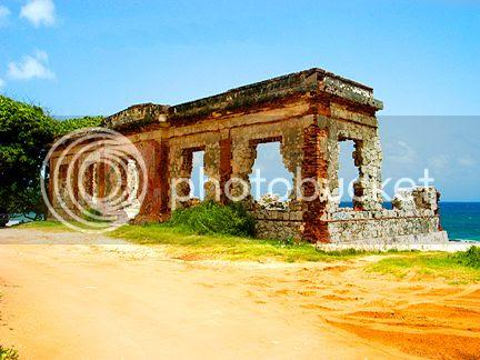 Ruins in Aguadilla Puerto Rico