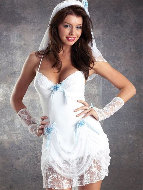 naughty ladies bride   hen night costume outfit fancy
