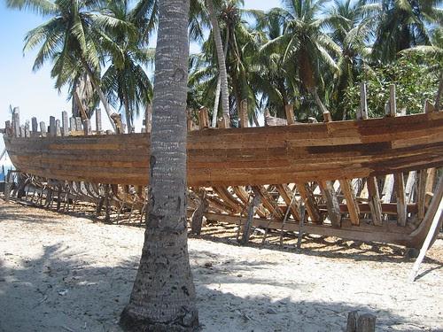 schooner under const BSM