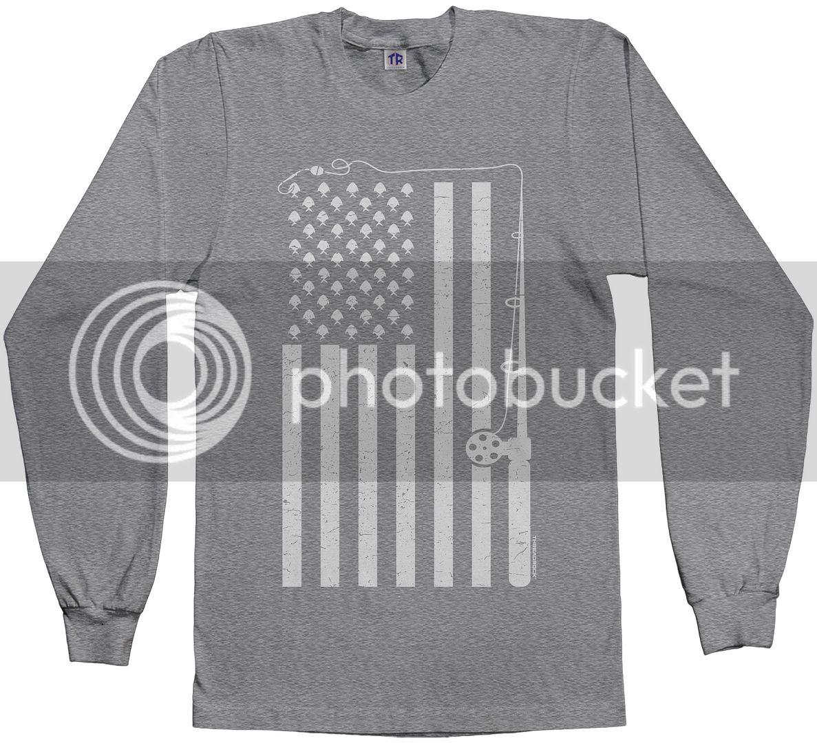 Download Threadrock Men's Fishing American Flag Long Sleeve T-shirt ...