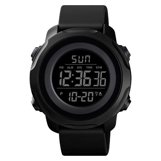 Men's Digital Sports Watch Military