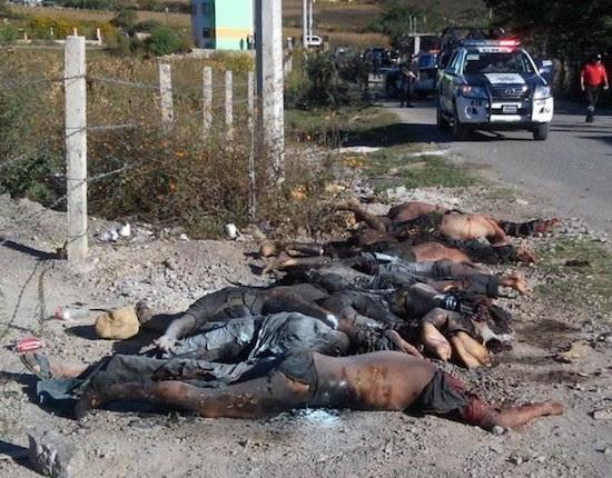 cuerpos calcinados Guerrero México: aparece asesinado el primero de los 43 estudiantes normalistas desaparecidos