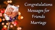 Congratulations Messages for Friends Marriage Best Friends Wishes in Congratulations Bhai & Bhabhi