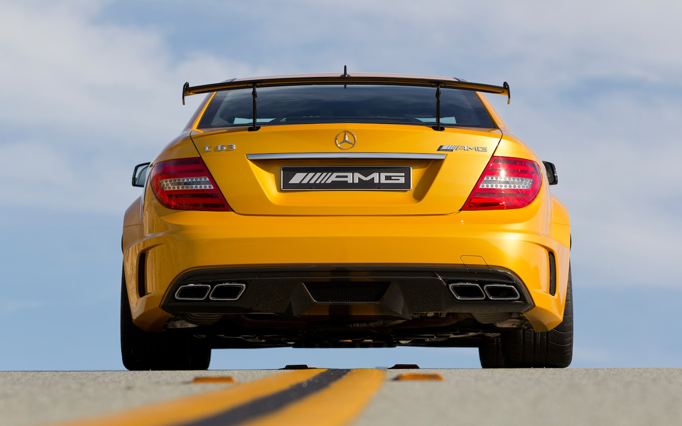 2013 Mercedes-Benz C63 AMG Coupe Black Series First Drive ...