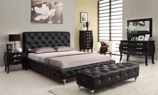 Black Bedroom Furniture - Interior design